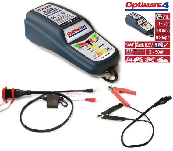 OptiMate4 / Optimate 4 Dual Programm Batterieladegerät