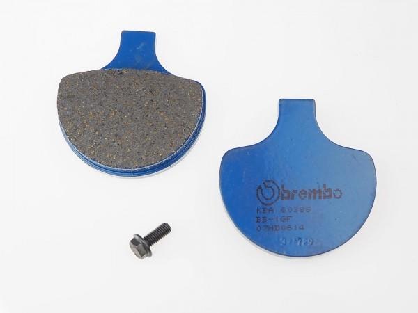 Lucas-TRW/SBS Vorderrad Standard-Bremsbelag (Carbon-Keramik)