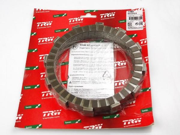TRW Lucas Kupplungslamellenset (9 st.) MCC212-9 Kawasaki GPZ 1100 / ZZR 1100 / ZZR 1200