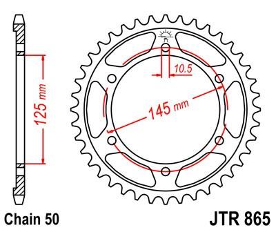 Kettenrad Aluminium 39Z / 47Z Einzelanfertigung (530)
