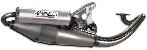 Giannelli Auspuffanlage Next Peugeot BUXY 50 (Bj.96-01)