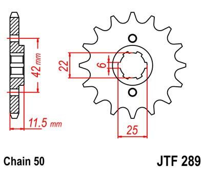 Kettenritzel CNC 15 16 Zähne - (530) Honda FT500 PC07