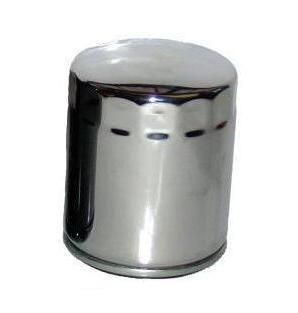 hiflo Ölfilter HF138C, hf 138c chromfarbiger Motorradölfilter