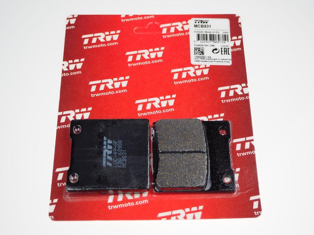 TRW Lucas Bremsbeläge MCB531 hinten Suzuki RF 600 R