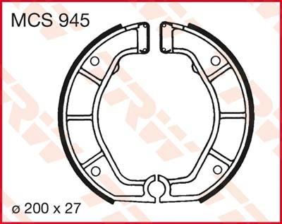 MCS945: Lucas Bremsbacken hinten MCS945