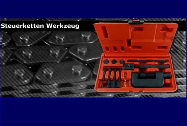 Kettentrennwerkzeug / Nietwerkzeug für alle Steuerketten