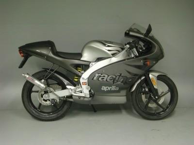 Giannelli Sportauspuff - Endtopf ALU Aprilia RS 50 (Bj.99-06)