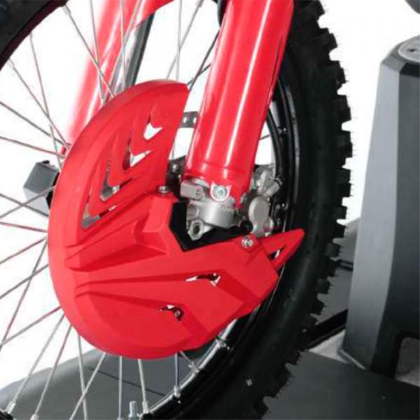 Bremsscheibenschutz mit Gabelprotektor unten für Husqvarna / KTM / Sherco Baujahre: 2015-2021