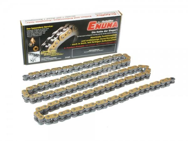 ENUMA 520 ZZZ / 520ZZZ Quadra-X-Ring 104 Glieder gold/silber