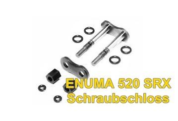 Enuma Schraubschloss / Kettenschloss Enuma 520 SRX gold/grau