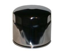 hiflo Ölfilter HF172C, hf 172c chromfarbiger Motorradölfilter