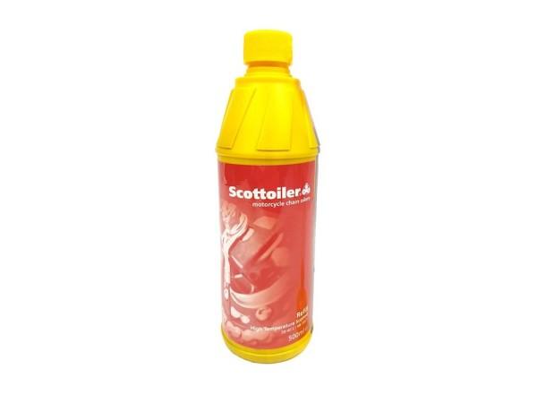 Scottoil Hochtemperaturöl / HighTemp rot 500ml /0.5L