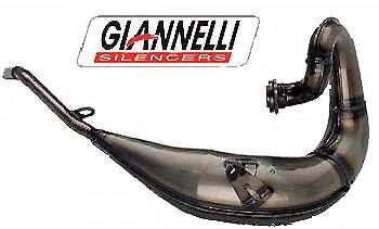 Giannelli Enduro 2T - Vorschalldaempfer: Yamaha DT 125R/DTR 125 (Bj.04-06)