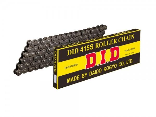 Kette DID Motorrad: DID415S 100 Glieder, offen mit Clipschloss