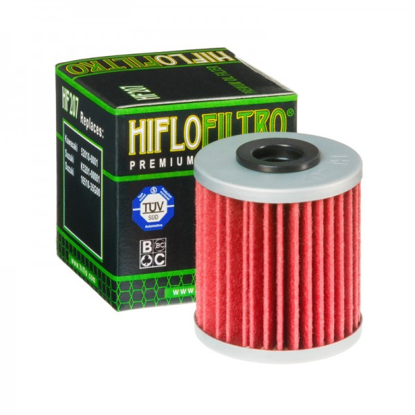 hiflo Ölfilter HF207, hf 207 Motorradölfilter