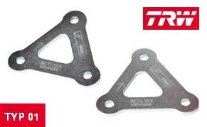 TRW Lucas Hecktieferlegungskit MCTL 143 für Aprilia RSV 1000 Mille Bj. 03-