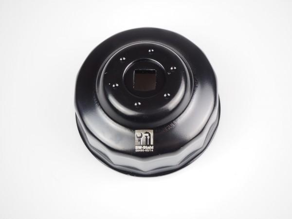 Ölfilterschlüssel HF001 (65mm) 14 Kant für Ölfilter HF204 HF303 MIW H1015