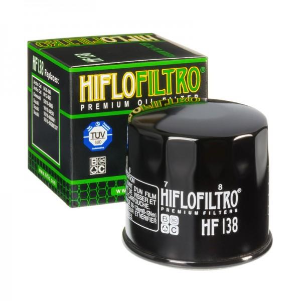 hiflo Ölfilter HF138, hf 138 Motorradölfilter