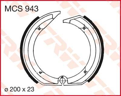 MCS943: Lucas Bremsbacken hinten MCS943