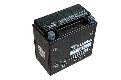 Motorradbatterie YUASA 6N4C-1B | 6V 4 AH