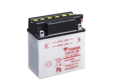 Batterie YUASA 12N7D-3B 12 V / 7Ah