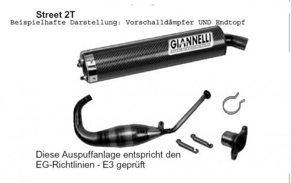 Giannelli Street 2T - Endtopf Carbon Cagiva Mito 125 (Bj.94-04)