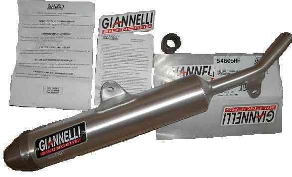 Giannelli Enduro 2T - Endtopf ALU Yamaha DT 125R/DTR 125 (Bj.04-06)