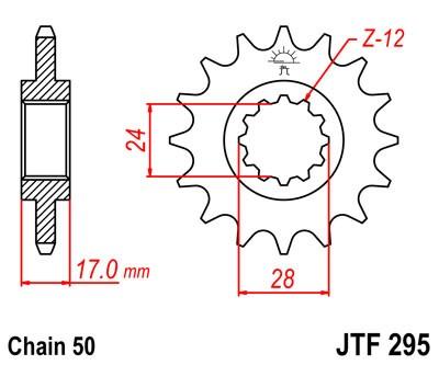 Kettenritzel CNC 14 15 16 Zähne Honda CBR 600F PC19 PC23 PC25 PC31 (530)