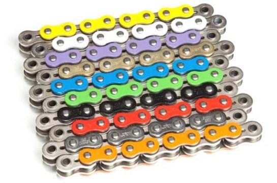 Kette ENUMA 520 SRX / 520SRX Quadra-X-Ring 116 Glieder alle Farben